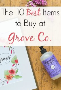The 10 Best Items to Buy at Grove