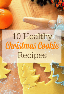 Enjoy a healthier holidays with these 10 healthy Christmas cookie recipes!