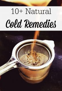Our family has been using natural cold remedies for nearly a decade. These alternatives to conventional cold medication will help you beat sickness in no time!