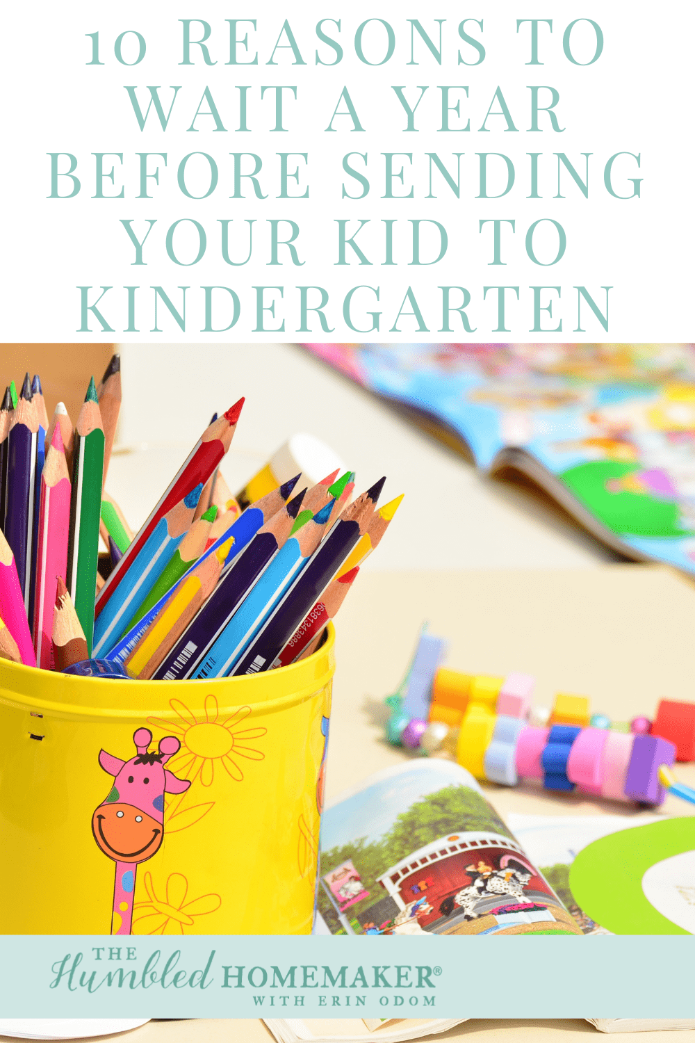I'm excited to share our family's reasons for why we're not sending our 5 year old to kindergarten, and I'd love for you to also read Lexie's story of how her family chose the opposite--to send their almost-5 year old to kindergarten!