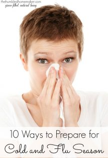There is no better time than now to prepare for cold and flu season!