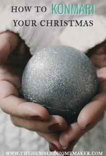 How to KonMari Your Christmas