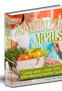 This eBook will take the stress out of making dinner!