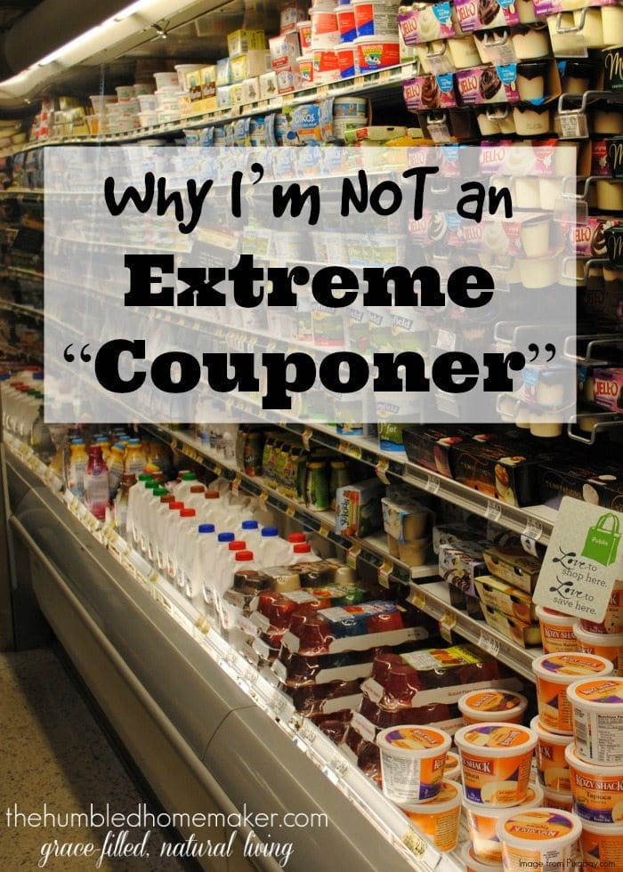 I have no doubts you can save massive amounts of money by couponing. But is it worth it if you do it at the expense of the health of your family?