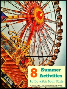Weekend Special: 8 Summer Activities to Do with Your Kids
