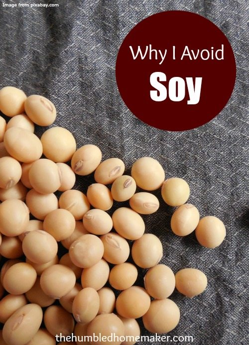 Soy is found in many processed foods on grocery store shelves. Here are my top 3 reasons for staying away from soy!
