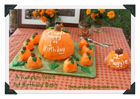 If your child has a fall birthday, this pumpkin patch birthday party idea is fabulous!