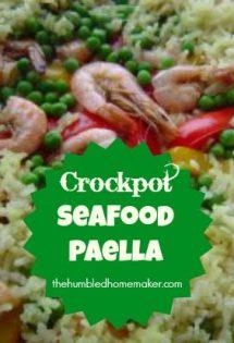 Crockpot Seafood Paella