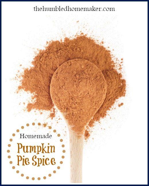 Homemade Pumpkin Pie Spice - TheHumbledHomemaker.com