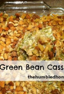 Cheesy Green Bean Casserole and 5 Great Real Food Holiday Recipes