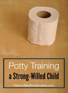 Potty Training a Strong-Willed Child: You Can Lead a Boy to the Potty, But You Cannot Make Him Pee
