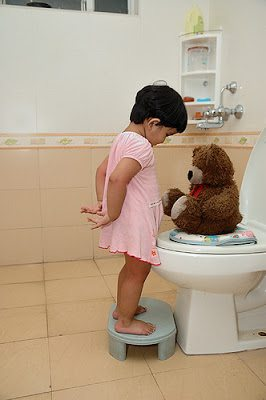 Here are some common potty training readiness signs!