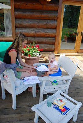 porch potty training
