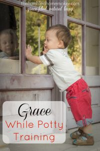 Grace While Potty Training {Potty Training at The First Years}