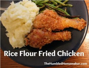 Rice Flour Fried Chicken (GF, DF)