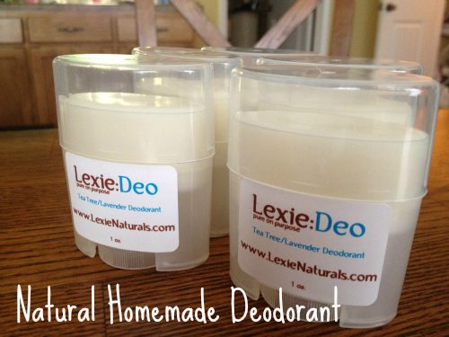 natural homemade deodorant recipe