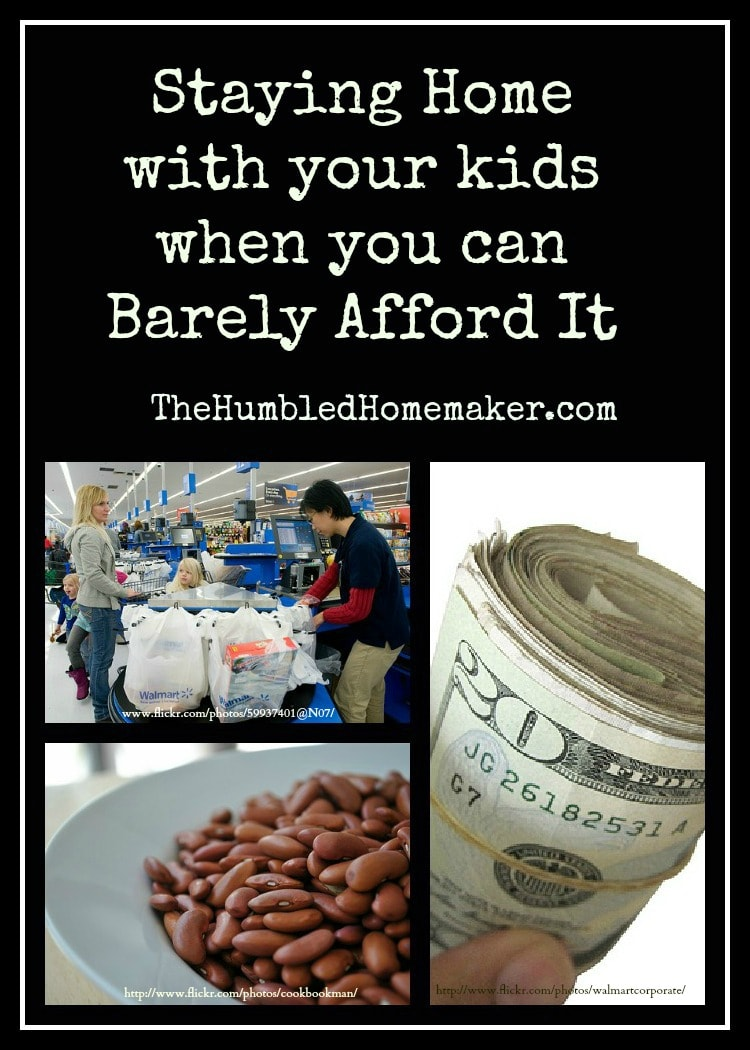 Don't Think You Can Afford To Stay At Home With Your Kids? Check