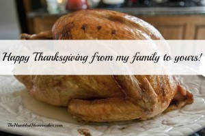 Happy Thanksgiving….and Black Friday/Cyber Monday Sales