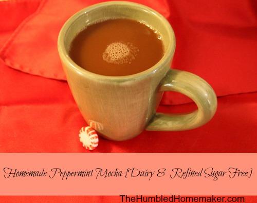 how to make an easy homemade mocha