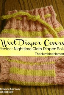 Wool Diaper Covers: A Perfect Nighttime Cloth Diaper Solution