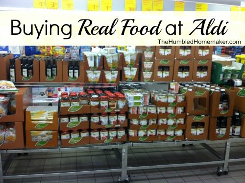 Why shop the pricey Whole Foods when the discount supermarket, ALDI, has a great selection of natural and organic products, for a fraction of the price! Save money and shop at ALDI!