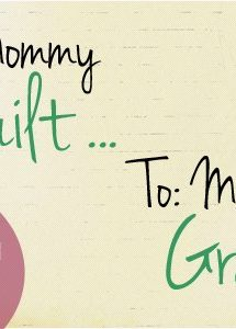 Why I Gave Up Going to Bible Study {From Mommy Guilt to Mommy Grace}