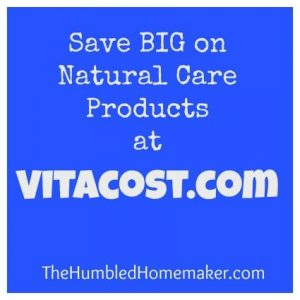 How to Save Money by Shopping at Vitacost.com - TheHumbledHomemaker.com
