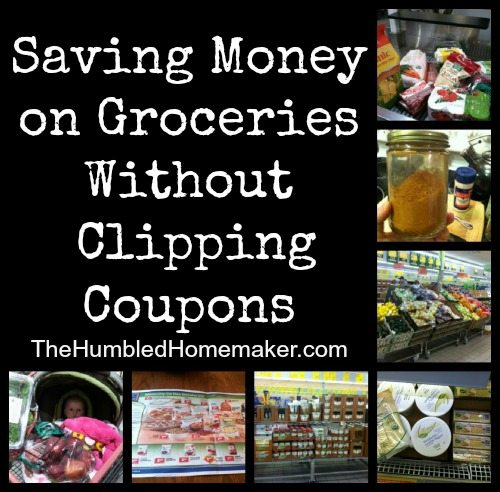 I don't like using coupons. The good news is that you can save money on groceries without using coupons!!