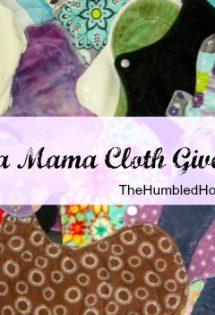Mama Cloth Rocks! {A Review & Mega Mama Cloth Giveaway!}