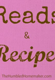 Reads & Recipes {February 2013}