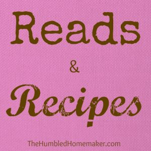 Reads & Recipes {February 2013}