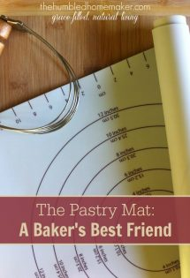 Pastry Mat: A Baker's Best Friend {Kitchen Tools of the Trade}