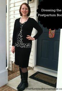 What to Wear Postpartum {Dressing to Cover the Tummy & Diastasis}