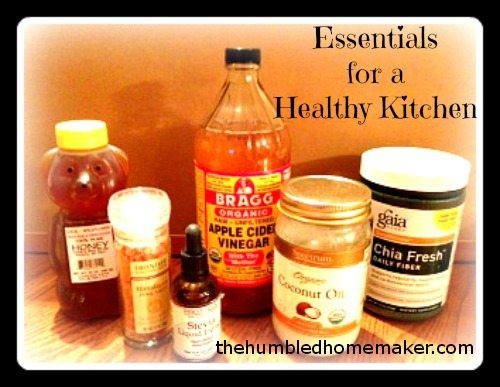 Healthy Kitchen Essentials
