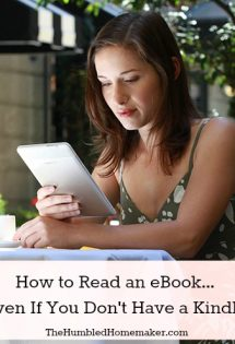 How to Read an eBook Even If You Don't Have a Kindle