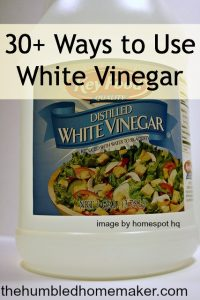 30+ Ways to Use White Vinegar