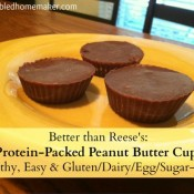 Better Than Reese's- Protein-Packed Peanut Butter Cups {Healthy, Easy & Gluten_Dairy_Egg_Sugar-Free!}