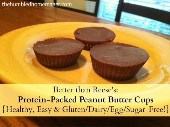 These easy, dairy-free, sugar-free chocolate peanut butter cups are even better than Reese's candy!