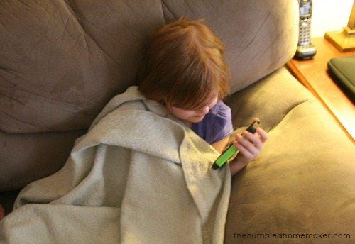 watching netflix on iphone