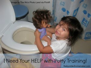 I need your HELP with potty training!