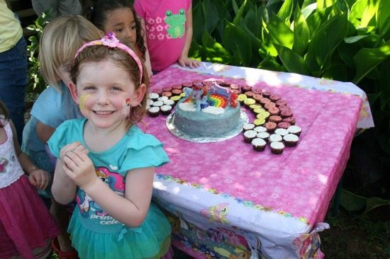 My Little Pony 5th Birthday Party