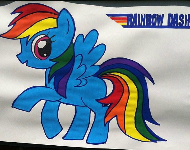 Pin the Cutie Mark on the Pony- My Little Pony Version of Pin the Tail on the Pony for a My Little Pony Party
