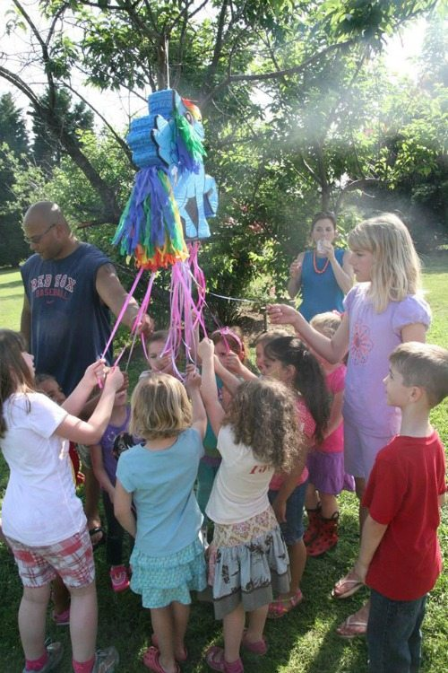 Rainbow Dash My Little Pony Pinata for a My Little Pony Birthday Party