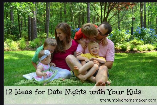 Date Nights with Your Kids
