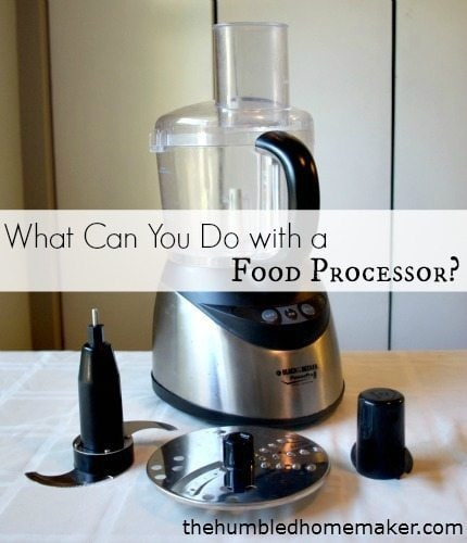 things to make with a food processor