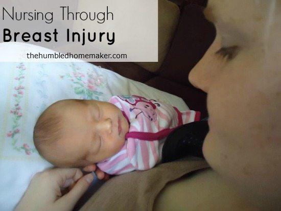 Nursing Through Breast Injury