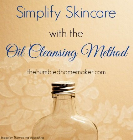 I love using the oil cleansing method for washing my face! It's all-natural and does a great job at removing make up and leaving my skin nourished and moisturized!