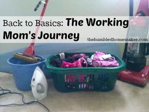 The Working Mom's Journey