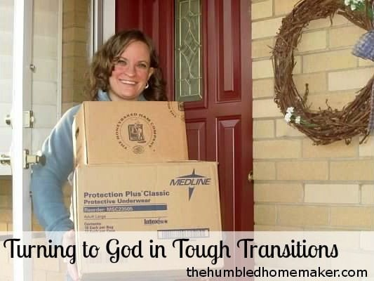 Turning to God in Tough Transitions