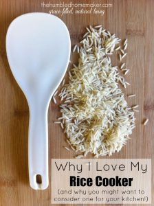 Why I Love My Rice Cooker {Kitchen Tools of the Trade}